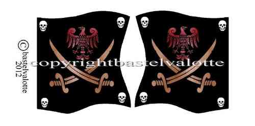 Piratenflaggen Set 013
